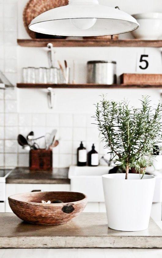 rustic modern kitchen / sfgirlbybay
