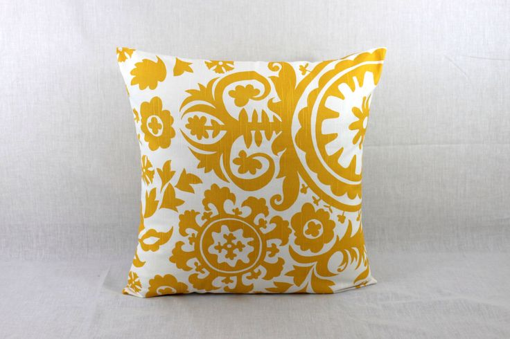 Cheap Throw Pillow - Yellow Pillow Covers-Decorative Couch Pillow by HomeMakeOver on Etsy https://www.etsy.com/listing/161345461/cheap-throw-pillow-yellow-pillow-covers