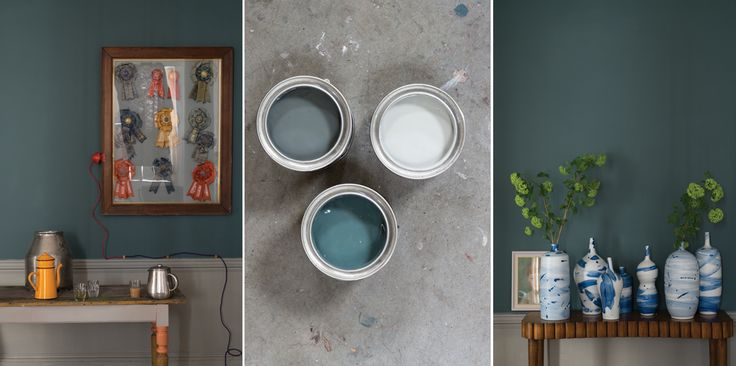 Inchyra Blue is an instantly favorite with a moody blue-grey tone. It was inspired by a beautiful classic Georgian Inchyra House in Scotland.