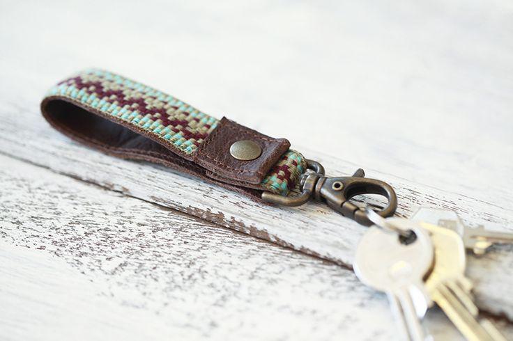 """#niezchinzpasji  Skórzany breloczek rzeczywistym """"Tjak"""" wzorzec #6 w ♠pikfine // all selfmade stuff na DaWanda.com"""