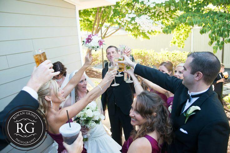 Montgomery Country Club MD wedding reception