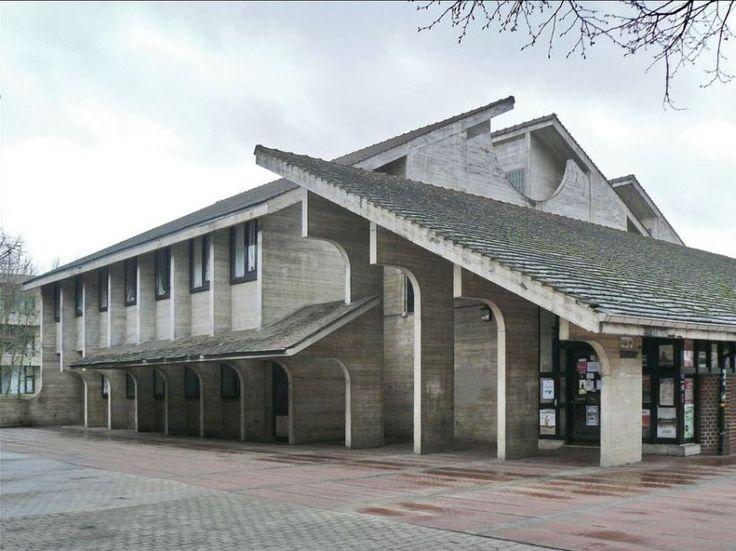 A. Jacqmain: Library, Université Catholique de Louvain - #SOSBRUTALISM