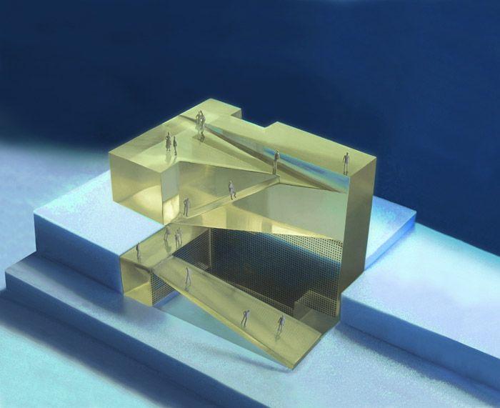 Architecture Foundation Cordoba,  maquette, architectural model, maqueta, modulo