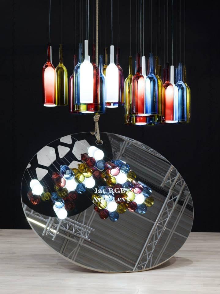 """Jar RGB"" by Arik Levy  #jarrgb #light #design #experience #lasvit"
