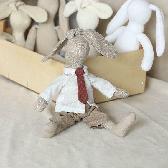 Boy Doll Clothes Set 12 inch Doll Pants Shirt and by RibizliDesign, $14.00
