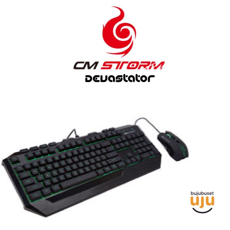 CM Storm - Devastator (Bundling Mouse + Keyboard) IDR 48x.xxx