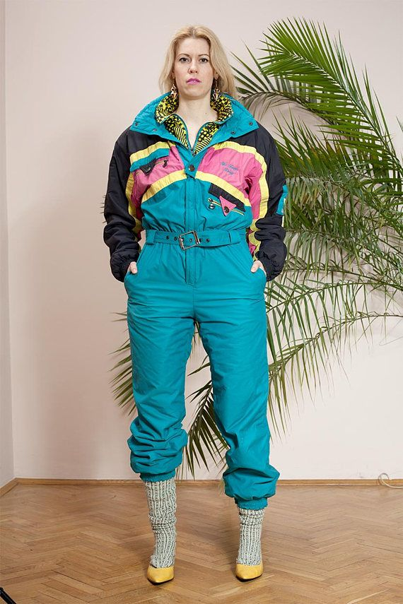 Winter ski suitWinter overallSnowboard suitVintage ladies