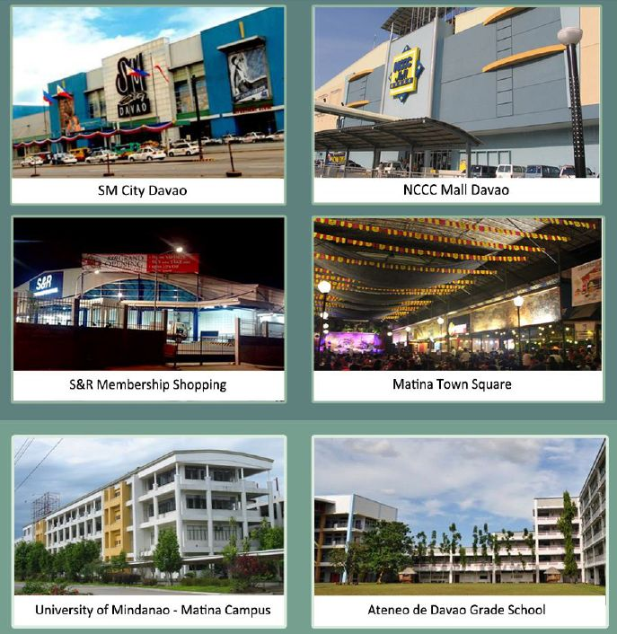 8 Spatial Davao location and nearby institutions http://globalfilinvestor.com/filinvest-8-spatial-davao-city/