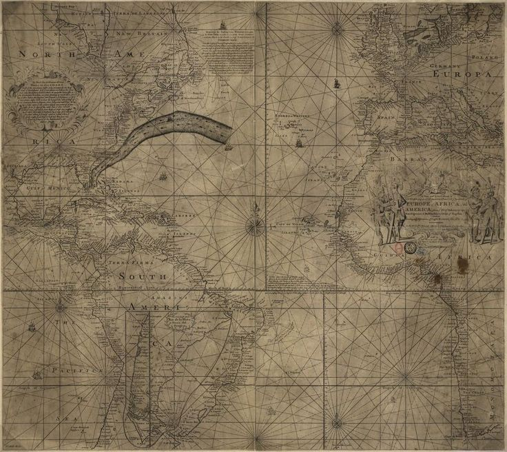 1768 Chart of the Gulf Stream by