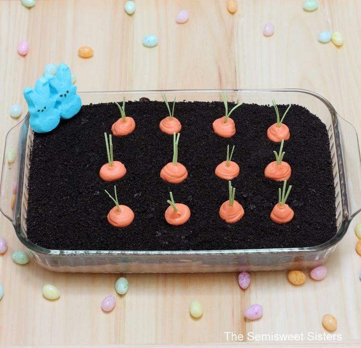 Easter Oreo Dirt Cake.. Definitely trying this :)