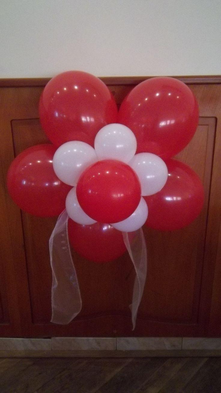Balónový kvet 5 lupeňov