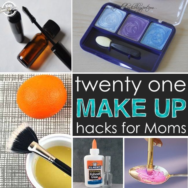 Make up hacks for mom