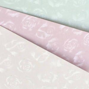 Papírgaléria névjegykarton A/4, 220g, 20 ív/cs, lézer és tintasugaras nyomtatóhoz, SMALL ROSES rózsaszín