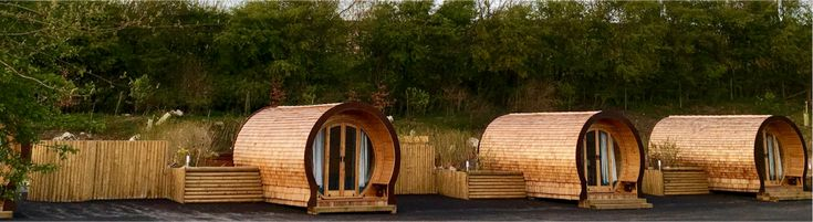 Book one of our camping pods in the Peak District here at Knotlow Farm. Hot tub holidays at our campsite between Buxton and Bakewell.