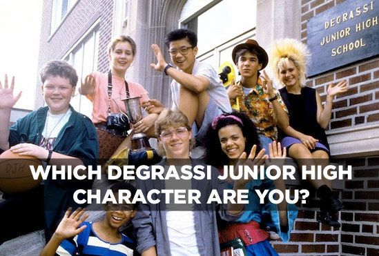 "Which ""Degrassi Junior High"" Character Are You"