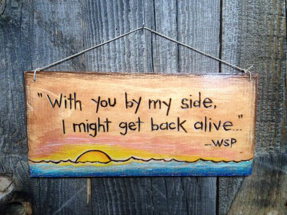 Woodburn quote sign on Etsy, $30.00