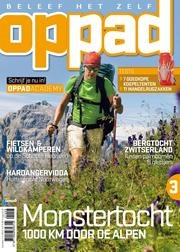 Op Pad is a magazine about active holidays out in the open. The magazine describes areas which have as yet scarcely been discovered by tourists. The articles focus on personal freedom coupled with a dose of adventure. Op Pad contains informative features on routes, maps and guides. It is also an authority on the practical testing of equipment for hiking, cycling, canoeing, mountain climbing, etc.
