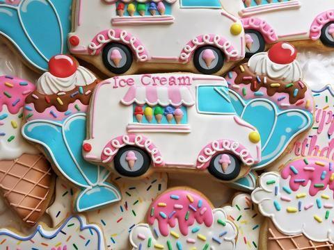 Flour Box Bakery Ice Cream Sundae and Mermaid Cookie Tutorials
