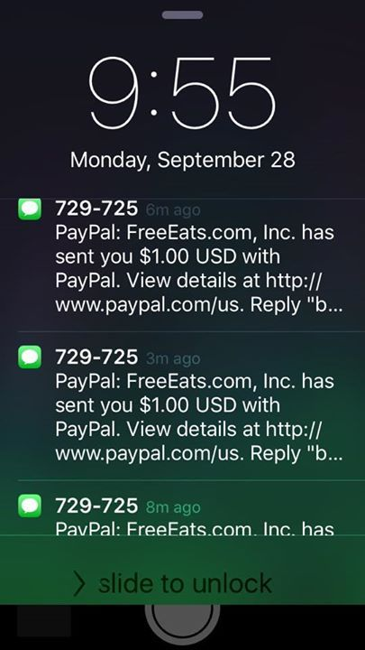 Learn How You Can Get Paid To Receive Text Messages With Free Eats.   I'll show you exactly how it works, and how you can get texts like these saying Free Eats just sent you money for receiving text messages!