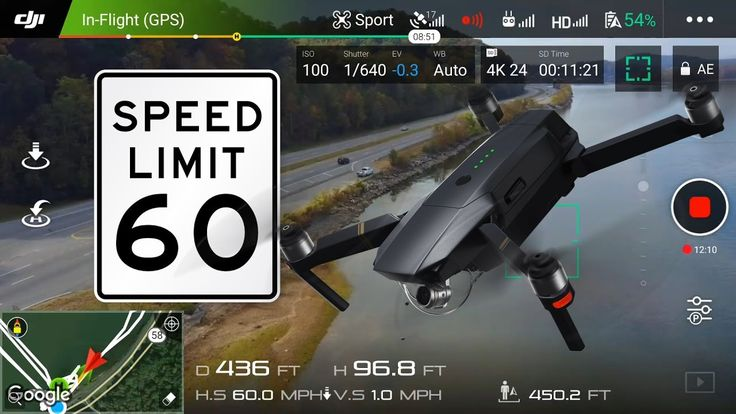 DJI MAVIC PRO  -  SPORT MODE -  HOW FAST WILL SHE FLY? - http://dronewithcamera.store/dji-mavic-pro-sport-mode-how-fast-will-she-fly/