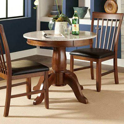 A-America Granite 34 in. Convertible Dining Table - AAME205