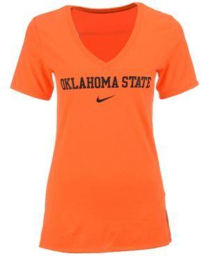 Nike Women's Oklahoma State Cowboys Arch Mid T-Shirt - Orange L