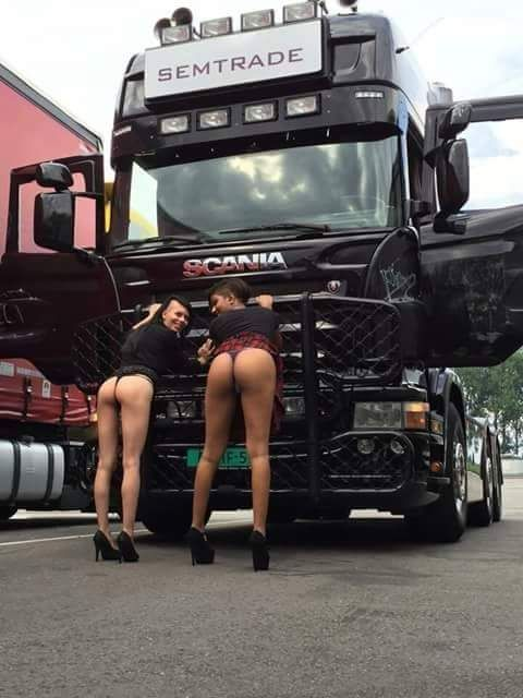 hot and sexy naked trucks