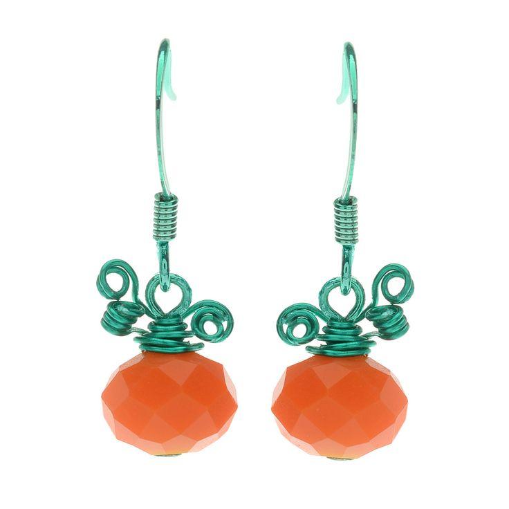 Tutorial - How to: Petite Pumpkin Earrings | Beadaholique