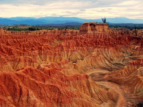 Tatacoa Desert in Villavieja, Huila-Colombia. We can take astronomy classes here