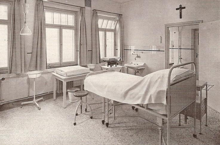 Sint Joseph Ziekenhuis 1932, verloskamer