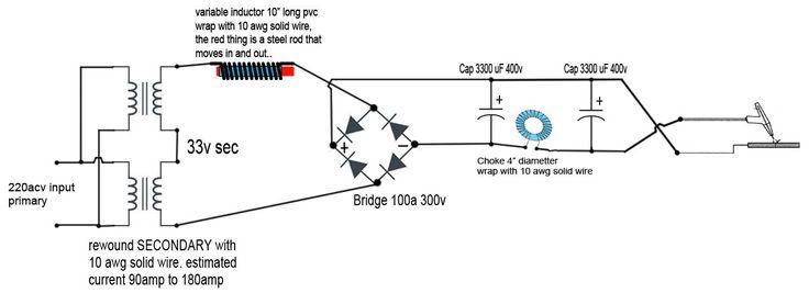 diy tig welder schematic diy