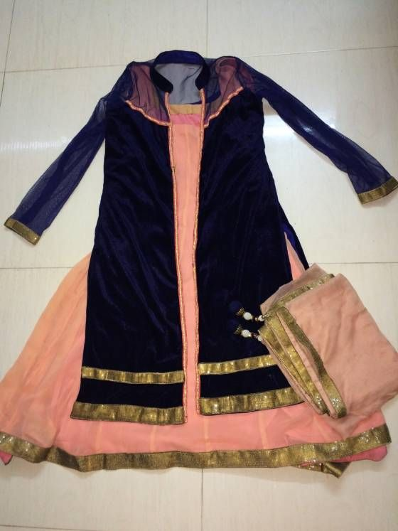 Buy Designer Dress with new combination  Online Vapi at Low Prices in India - Shopo.in