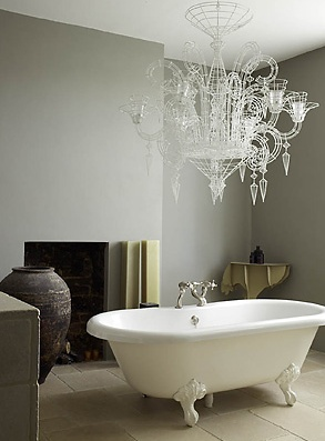 how long will it take for my husband to come around to the idea of a claw tub!! swoon