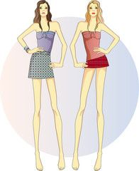 девочки- близнецы