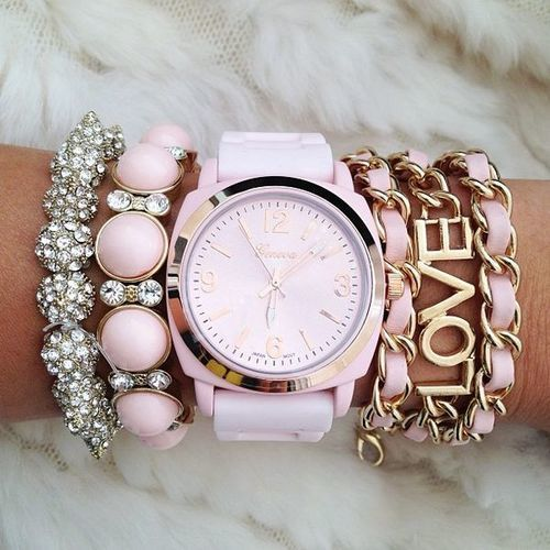 arm candy... I love the interlace bracelet!