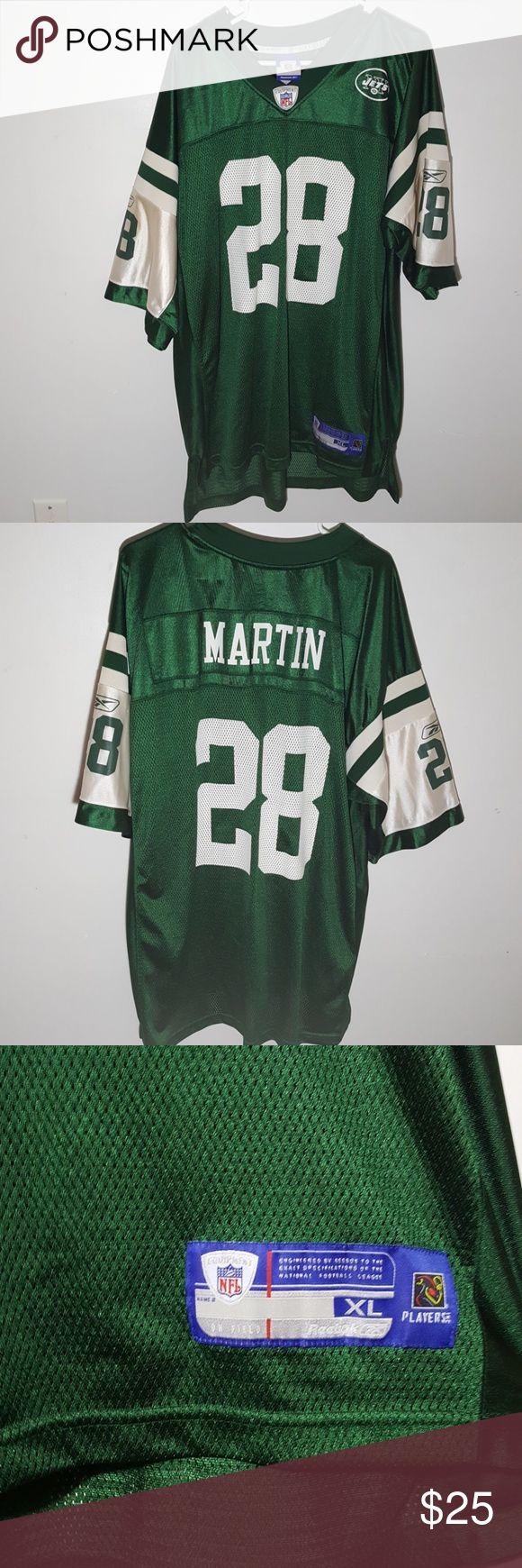 NY Jets #28 Curtis Martin Jersey NY Jets #28 Curtis Martin Jersey Size XL Reebok Reebok Shirts
