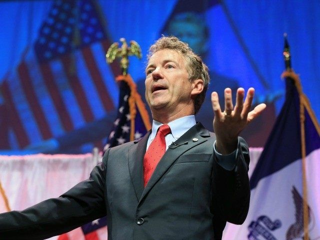 Rand Paul Calls for An End to Sanctuary Cities, Says There Should be Populist 'Revolution' Against Unsecured Border. AP Photo/Nati Harnik