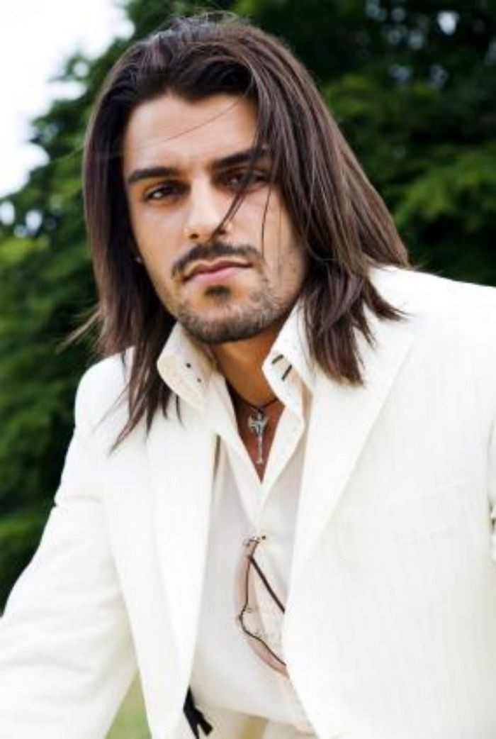 The 19 Best Mens Long Hair Styles Images On Pinterest Cabello