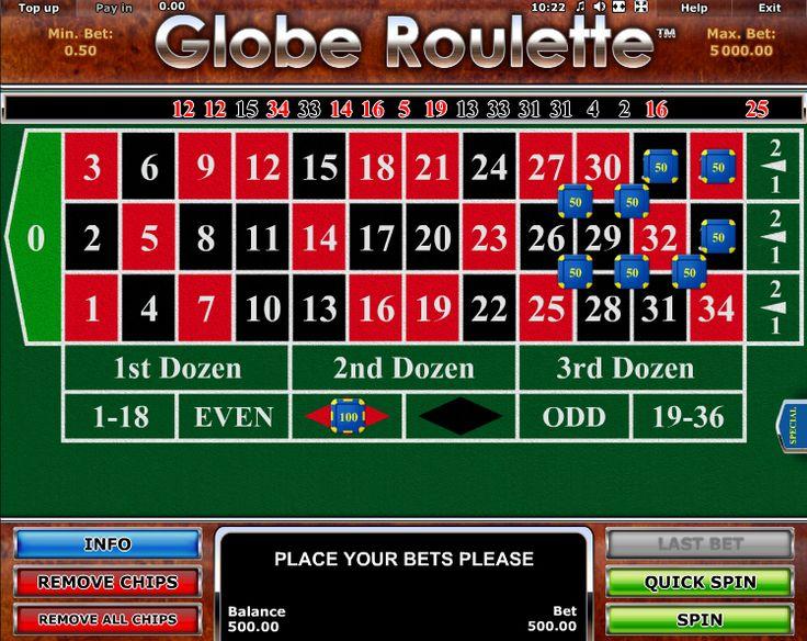 Globe Roulette - http://casinospiele-online.com/globe-roulette/