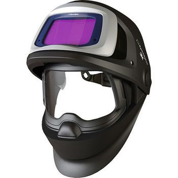 Speedglas welding helmet 9100xx FX features flip up combo of auto darkening welding shield & protective visor