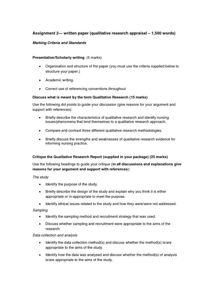 Academic Research Paper Template Word
