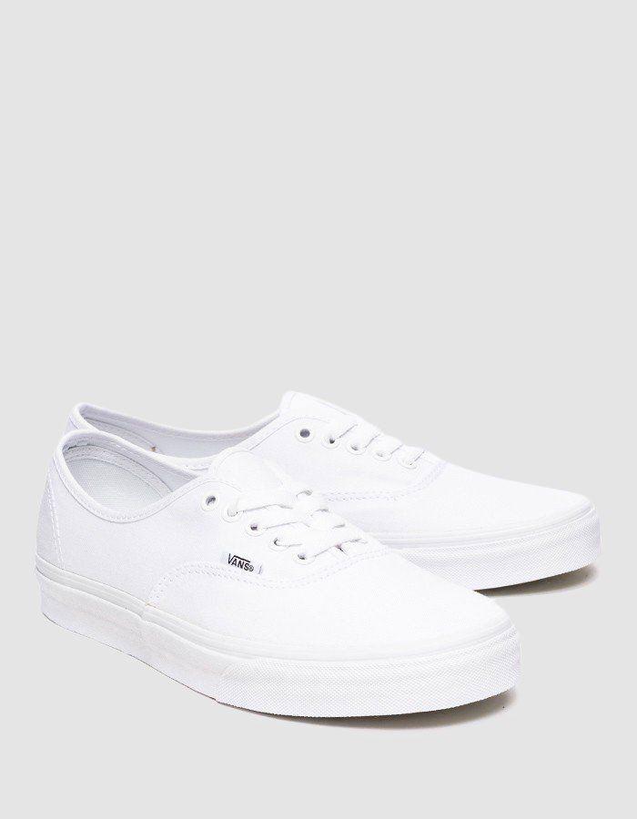 True White | Vans authentic white