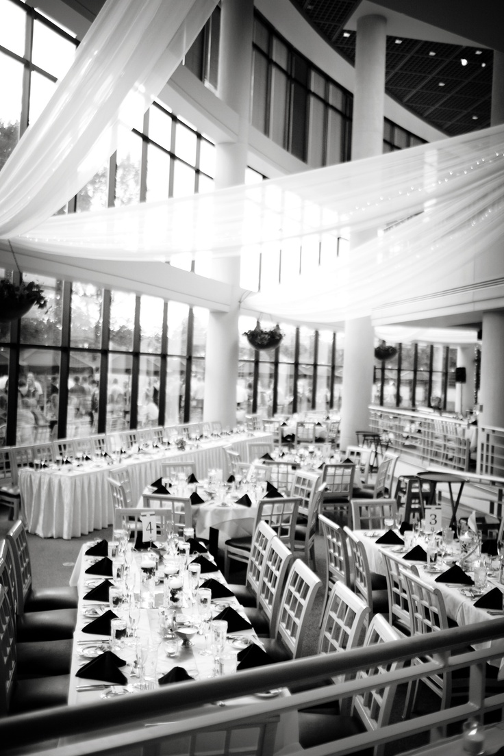affordable wedding reception venues minnesota%0A Indoor Wedding w  a great view