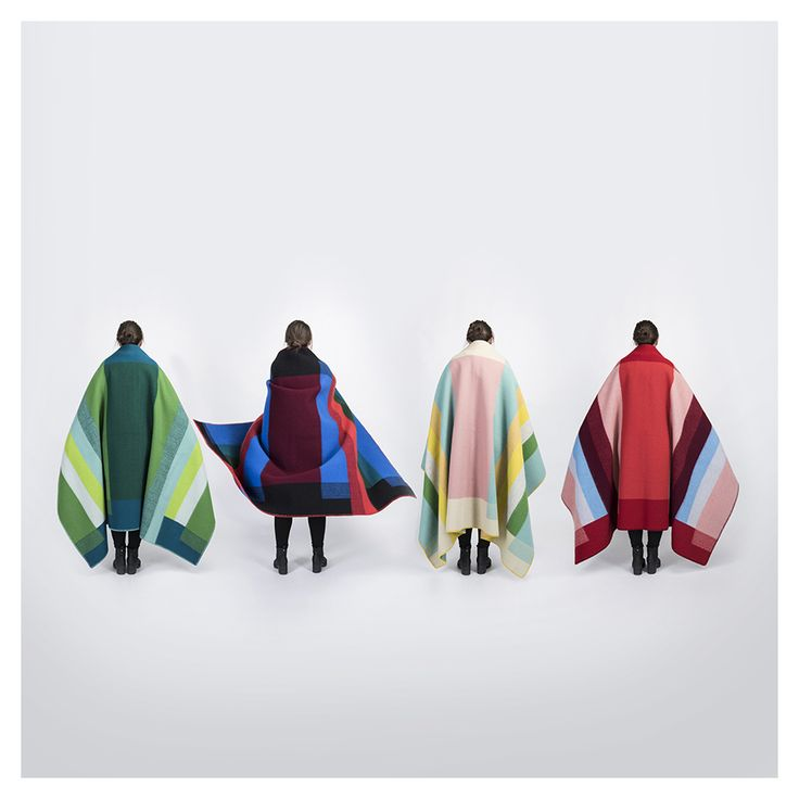 Kristine Five Melvaer - Mikkel wool blankets for Røros Tweed