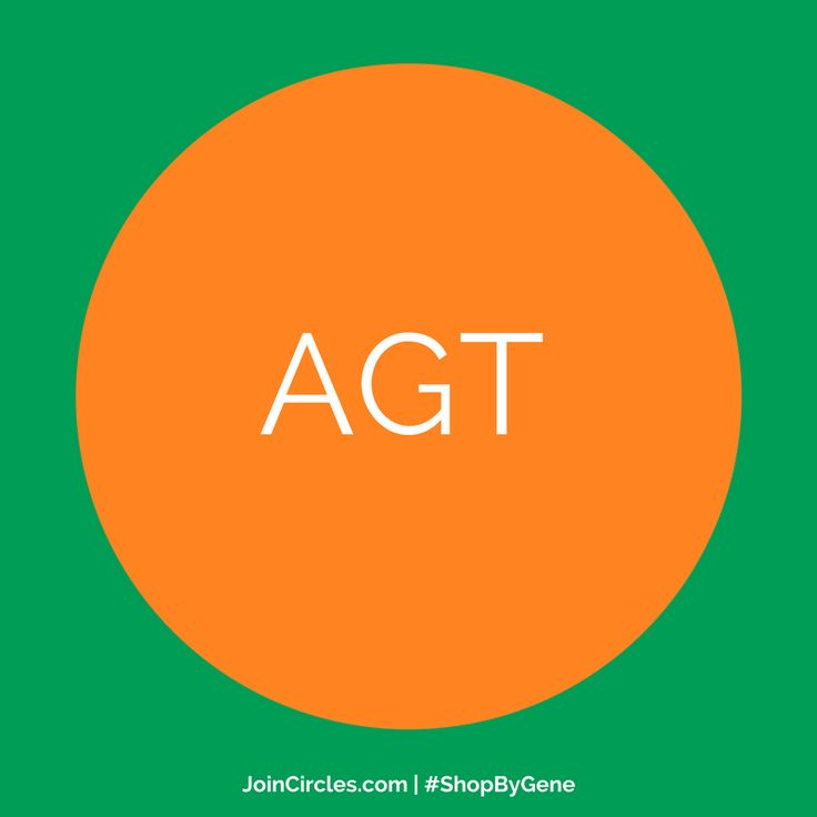 The #AGT #gene provides instructions for the regulation of #bloodpressure and the #balanceoffluids and #salts in the #body. Order online.