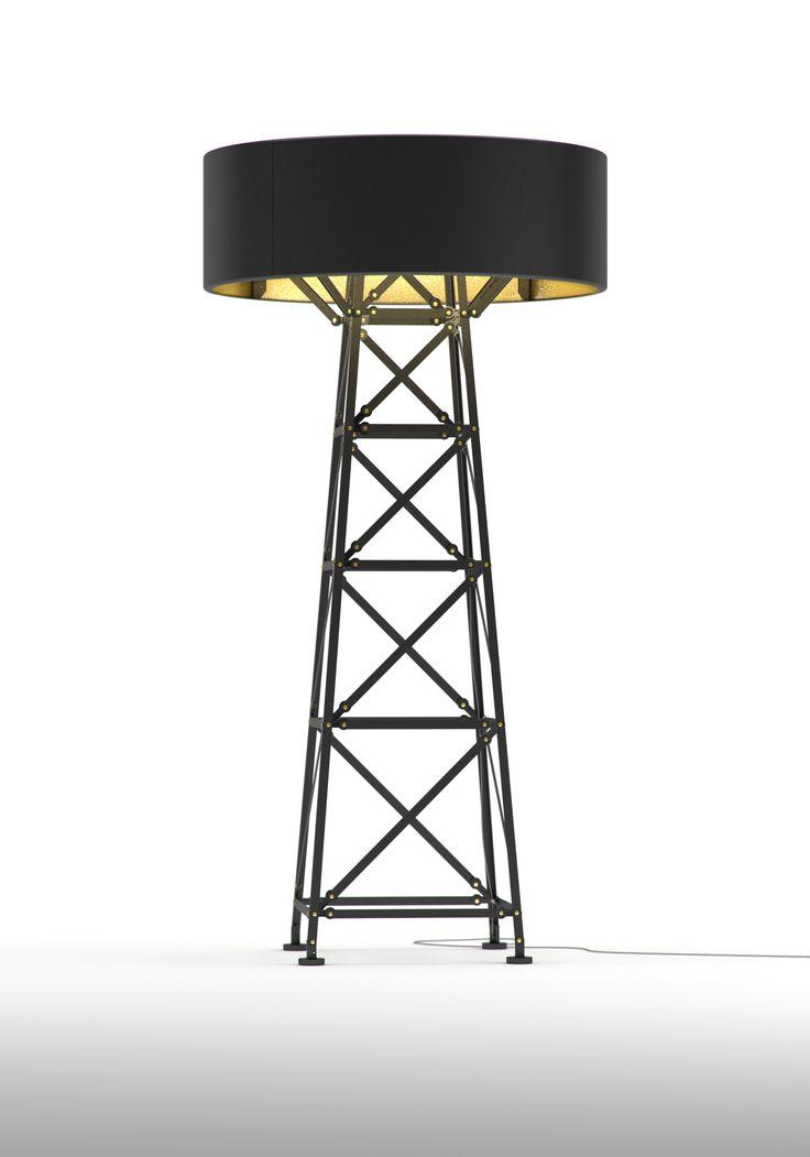 Construction Lamp Matt Black L 180 by Joost van Bleiswijk for Moooi  www.klausn.com