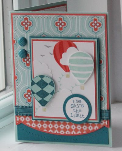 Love the colours in this card....and the design.
