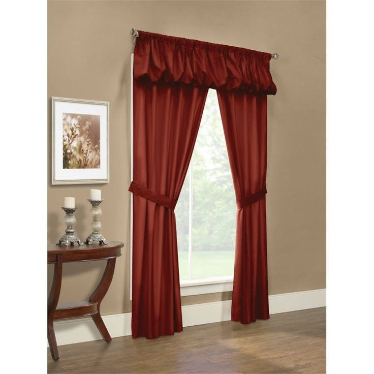 15 Must See Burgundy Curtains Pins