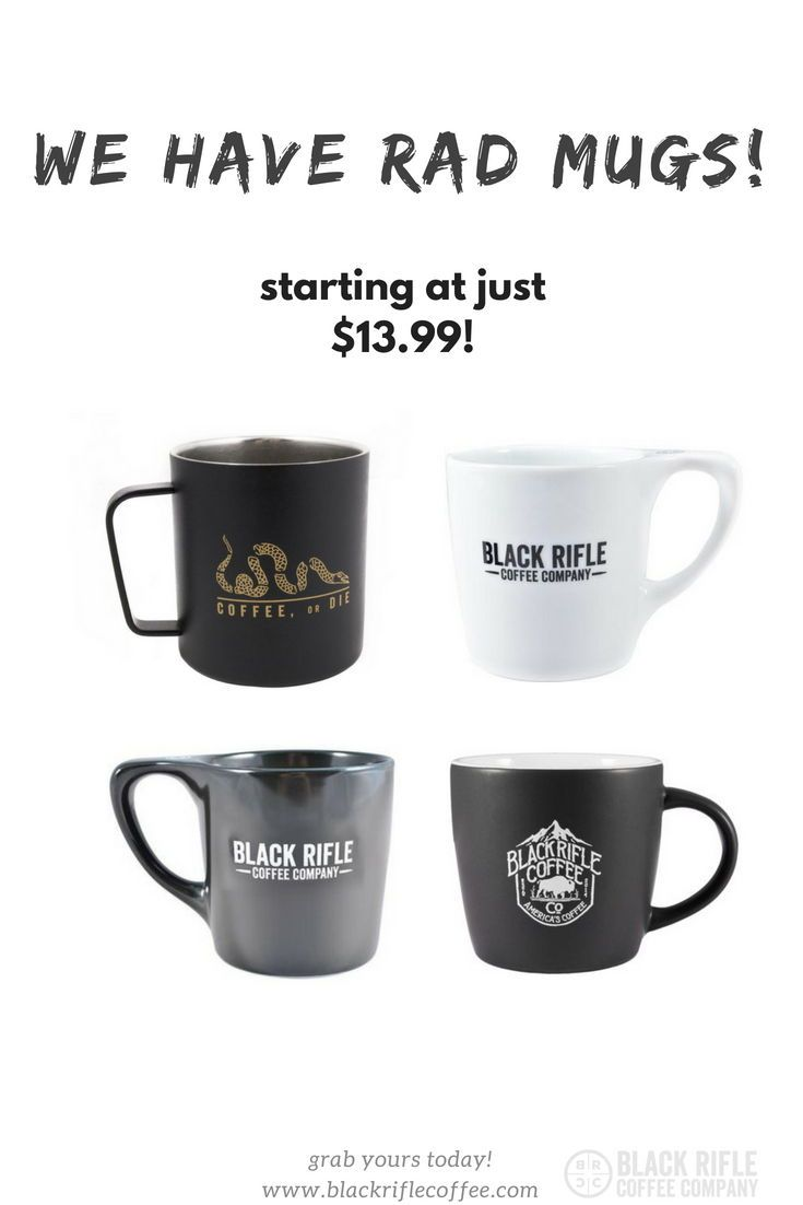 Rifle Coffee Treat Yo Check Company Our Out Mugs New Black And HI9WE2DY