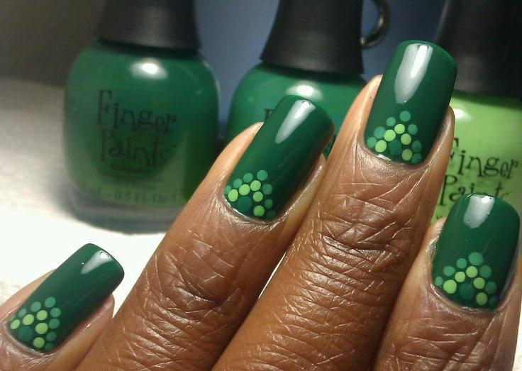 Mejores 337 imágenes de nails- dots en Pinterest | Ongles, Uñas ...